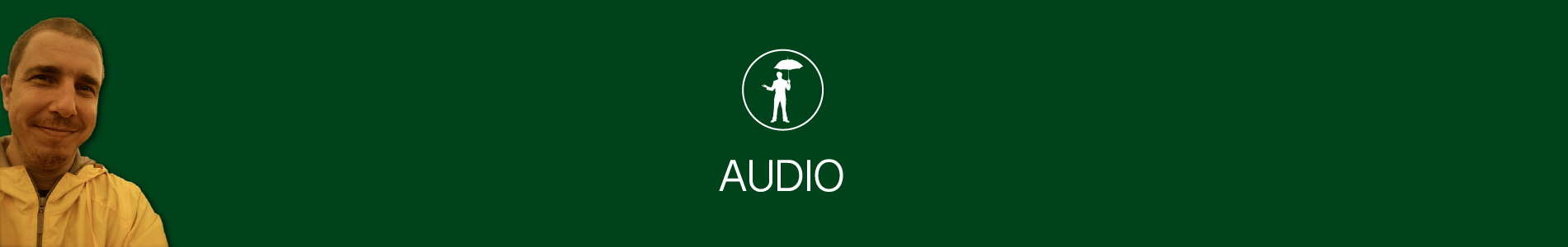 Header image for Audio page