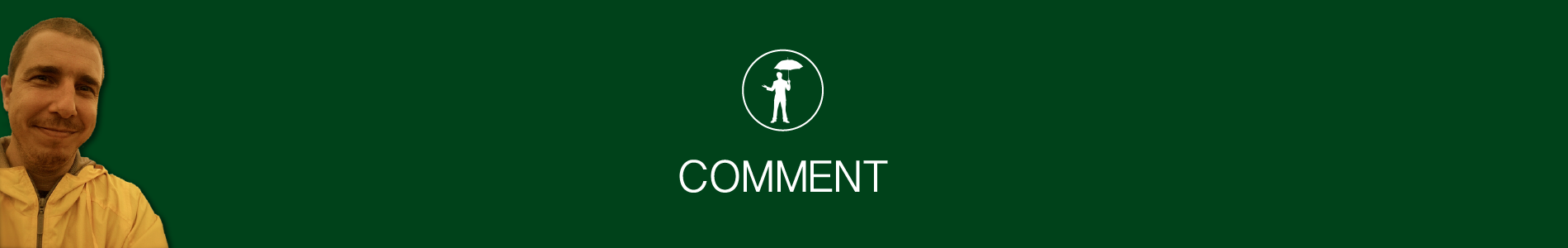 Header image for Comment page