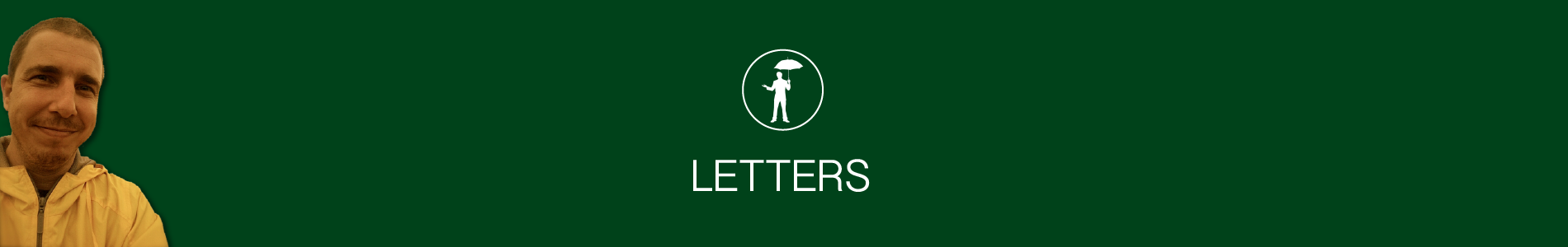 Header image for Letters page