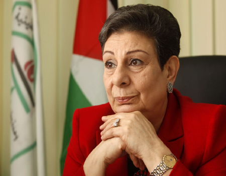 Photo of Haneen Ashrawi, PLO Executive Committee Member