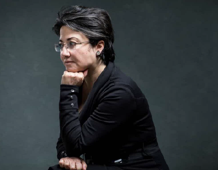 Photo of Balad Party Joint List MK Hanin Zoabi